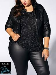 Tess Holliday Size Chart Tess Holliday Long Sleeve Coated Jacket