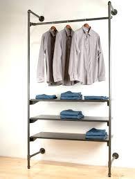 diy garment rack wood clothes rack furniture wardrobes view in gallery pipe garment rack pipe clothing diy garment rack wood