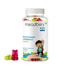 Buy MEADBERY <b>Multivitamin</b> and <b>Mineral</b> Gummy Bears Gluten ...