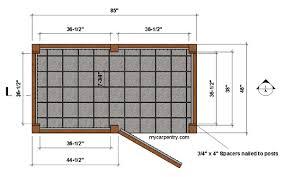 Outdoor Shower Floor Plan