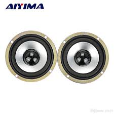 2018 aiyima 3inch audio portable speakers full range 10w 4ohm speaker diy hifi loudspeaker car stereo home theater from jerry01 10 21 dhgate com