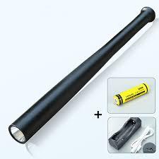 Đèn pin chiếu sáng HD01, bền đẹp, kiểu dáng gậy bóng chày mới lạ tiện dụng,  độ bền cao