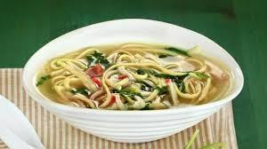 Китайские супы Суп с лапшой