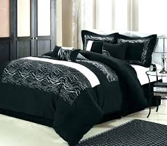 black white queen comforter sets size set bed comforters good and red