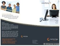 Microsoft Brochure Templates Download Free Consulting Brochure Template Download Free Microsoft Office