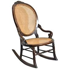 antique wood rocking chair glider rocker wood leather rocking chair upholstered wooden rocker glider seat furniture