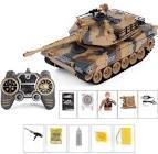 <b>2.4G Remote Vibration Smoke</b> Into Bullets Hit Battle Tank 1:18 ...