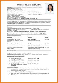 Download Resume Format Write The Best Professional Samples Pdf 0