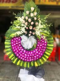 Vòng hoa tang lễ hoa đám tang hoa chia buồn kính viếng đám tang.