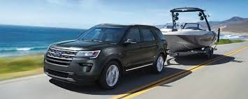 Ford Explorer Towing Capacity Chart 2019 Ford Explorer Towing Capacity Ford Suv Towing Specs