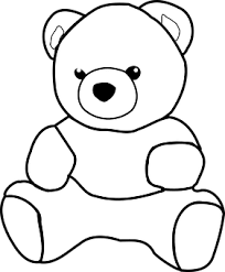 Openclipart Vectors Pixabay 167 Strak Coloriage Ours