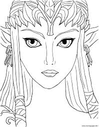 Small Picture legend of zelda twilight princess Coloring pages Printable