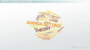 Agenda Setting Agenda Setting Definition Function Process Examples