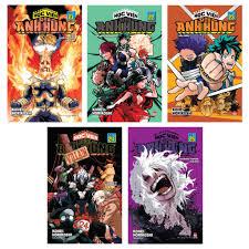 Truyện tranh - Học viên siêu siêu anh hùng ( Tập 21 đến tập 25) chính hãng  100,000đ