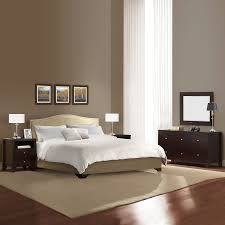 Lifestyle Furniture Bedroom Sets Shop Lifestyle Solutions Magnolia Cappuccino King Bedroom Set At