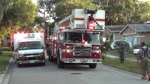 Roto Rays Warning Lights Inc Clearwater Fire Rescue Truck 48 With Cool Looking Roto Ray