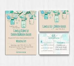 3878 best teal wedding invitations images on pinterest teal Wedding Invitations South Perth mason jar wedding invitation printable teal mint by printablemoon South of Perth City