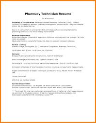 9 Pharmacy Technician Resume Skills Letter Signature