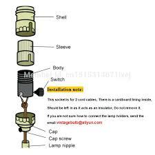 pull chain light socket pull chain lamp socket