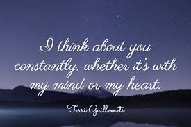 Top 30 Thinking Of You Quotes For Him Her