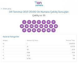 Milli Piyango On Numara çekiliş sonuçları 9 Temmuz 2021: On Numara bilet  sorgulama - Noktam Haber - Türkiye'nin Tek Tarafsız Haber Sitesine Göz At