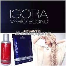 5xschwarzkopf Bleach Hair Hydrogen Peroxide Blonde