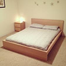 ikea malm bed instructions 2008 desk frame white stained oak veneer in old street gl top