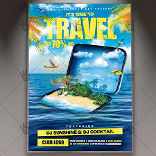 Travel Premium Flyer Psd Template