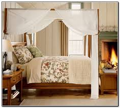 Interesting 4 Post Canopy Bed Curtains 65 About Remodel Best Place To Buy  Curtains With 4