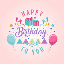 happy birthday design surprise theme happy birthday card illustration vector free download