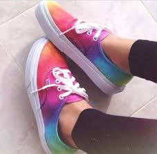vans shoes for girls. shoes tie dye vans galaxy print bright blend swag colorful white for girls