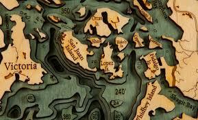 Wood Bathymetric Charts Bathymetric Wood Charts Pursuit