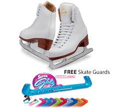 Jackson Ice Skates Excel Js1290 Women Free Skate Guards