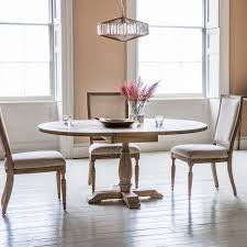 hudson living mustique dining set 120cm 165cm round extending with 4 chairs