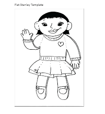 Free Printable Flat Stanley Template 8 Best Images On Girl