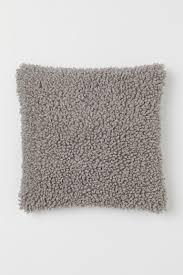 <b>Чехол для декоративной подушки</b> - Светло-серый - HOME | H&M ...