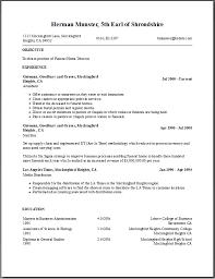 Resume Template Generator Magnificent Free Resume Builder Templates Professional User Manual EBooks