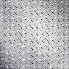 Material Rohs Decorative Ss Chequered Plates Thickness 0 1
