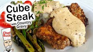 cube steak recipe with country gravy
