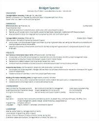 Civil Engineering Resume Template – Resume Sample Collection