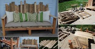 pallets made into furniture. VIEW IN GALLERY Outdoor-Pallet-Furniture-DIY-ideas-and-tutorials19 Pallets Made Into Furniture
