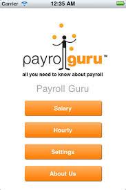 Texas Payroll Calculator Hourly Payrollguru Ios Payroll Applications And Free Paycheck Calculators
