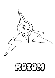 Small Picture Rotom coloring pages Hellokidscom