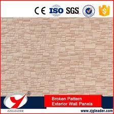 enviornment friendly broken stone pattern exterior wall decorative panels