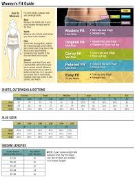 Carhartt Size Chart Women S Carhartt Womens Size Chart