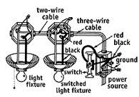 how to run two lights from one switch electrical online How To Wire Two Lights To One Switch Diagram wiring two lights to one switch diagram the wiring diagram, wiring diagram wire two lights to one switch diagram