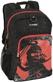 LEGO Ninjago Red Ninja Heritage Classic Backpack, One Size : Amazon.ca:  Clothing, Shoes & Accessories