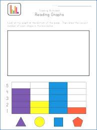 bar graph for kids worksheet template algebra