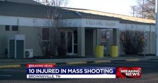 arrest in shooting of 10 at national guard armory in tennessee cbs news