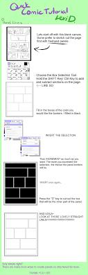 manga page size comic panels on sai tutorial by ladylexid on deviantart